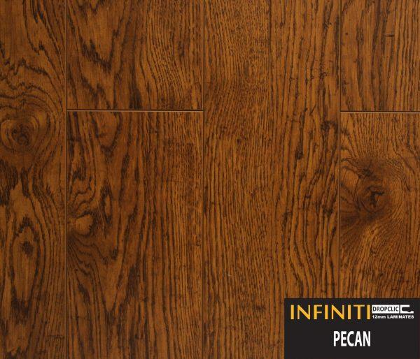 Pecan Infiniti Collection 12mm Laminate, Pecan Laminate Flooring 12mm