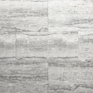 12x24 Dark Grey Mist Polished Tile