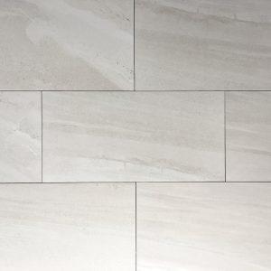 12x24 Elite Smoke Grey Matte Tile
