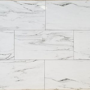 12x24 Fusion White Polished Tile