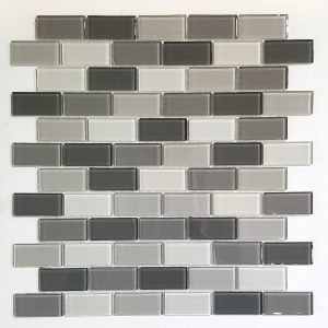 1x2 Aspen Grey Backsplash