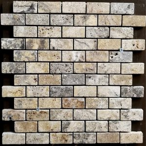 1x2 Scabos Tumbled Backsplash