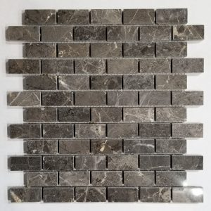 1x2 Valensa Dark Grey Backsplash