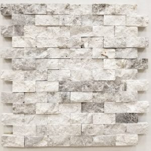 1x2 Valensa Grey Split Face Backsplash
